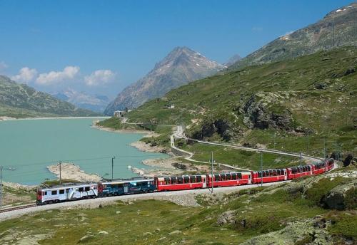 Szwajcaria i Włochy: Alpy - tu się oddycha