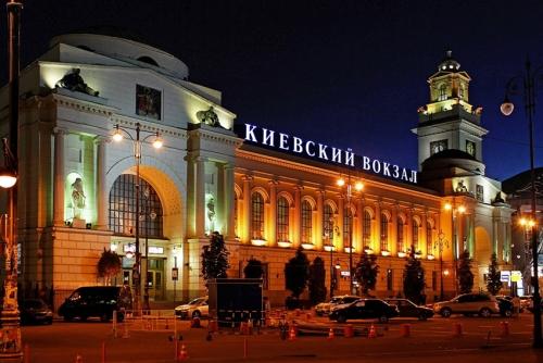 Kijów pociągiem